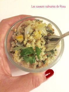 Je partage avec vous aujourd'hui une bonne salade saine et végétarienne et sans gluten, que des biens fait dans cette salade, elle est à base de quinoa et de pois chiche, elle est gourmande alors si ça vous parle n'hésitez pas à l'essayer Ingrédients:...