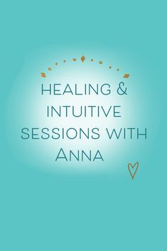 Intuition, Anna, Healing, Calm, Therapy, Recovery