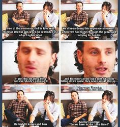 When Andi felt in love with Norman