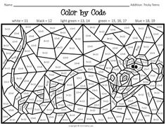 "Students will be actively engaged as they work to discover the hidden picture!Practice addition with tricky teens using this original activity created by Kathy Law.DON""T FORGET to leave feedback! It is very much appreciated! Homeschool Worksheets, Kindergarten Math Worksheets, Fun Worksheets, Homeschool Math, Math Addition, Addition And Subtraction, Third Grade Math, Second Grade, Math School"