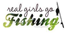Real girls go fishing!(: