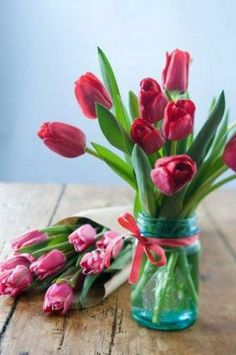 Tulips are back in season! #pink #spring