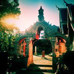 Monk at a Temple, Chiang Mai, Thailand | by Rob Sheridan
