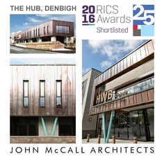 Denbigh Hub shortlisted for RICS awards, John McCall Architects