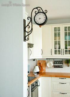 Anicja's White Space: Drewniane blaty i kuchenne dylematy