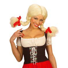 Peluca de Heidi #pelucasdisfraz #accesoriosdisfraz #accesoriosphotocall