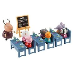Superb Peppa Pig's Classroom Playset Now at Smyths Toys UK. Shop for Peppa Pig At Great Prices. Dora Toys, Latest Kids Toys, Disney Princess Toys, Toys Uk, Romantic Picnics, Mickey Mouse Club, Cute Toys, Gifts For Kids, Classroom