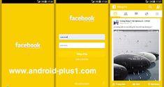 تحميل تطبيق فيس بوك معدل بـ 6 الوان رائعه للاندرويد Red Green Yellow, Pink Purple, Facebook Green, Technology
