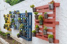 Ideais para quem tem pouco espaço, os jardins verticais levam o verde para dentro de casa e são