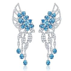 Graziela Gems. Newest collection with a gemstone that has never been seen before in the US market! Midnight Aquamarine Collection!