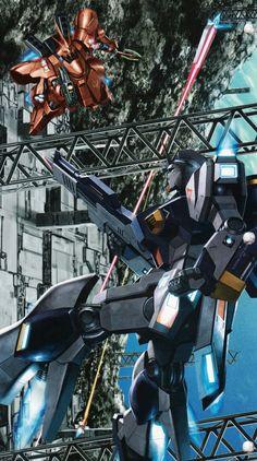 War In Space, Asteroid Belt, Zeta Gundam, Gundam Wallpapers, Cyberpunk City, Space Battles, Robot Art, Robots, Evergreen Forest