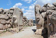 Porta do Leão de Hatusa, a capital dos HITITAS (Boğazköy, Turquia)