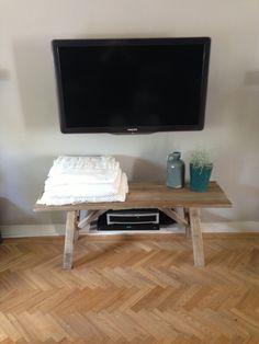 Tv meubel -  bankje van steigerhout