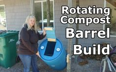 We build a rotating composting Barrel without running to the hardware store! PLEASE Subscribe and leave a comment below. We are new to YouTube and looking to...