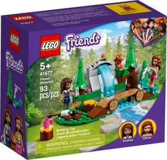 Lego Friends, Lego Sets, Forest Waterfall, Les Cascades, Popular Toys, Beautiful Forest, Forest House, Marshmallow, Imaginative Play