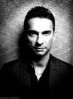 Dave Gahan, beautiful, strong and a personal hero. He's overcome much and is just wonderful!