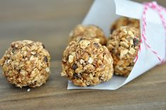 No-Bake Healthy Granola Bites | Mel's Kitchen Cafe