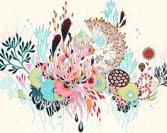 Giclee Fine Art Print labyrinthe par yellena sur Etsy