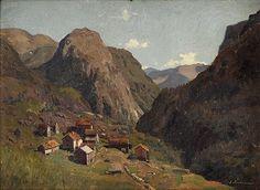 Adelsteen Normann (1848-1918): From Stalheim