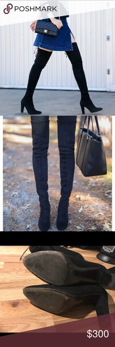 Stuart Weitzman Shoes Over the Knee Boots Thigh High Boots, Over The Knee Boots, Fashion Tips, Fashion Design, Fashion Trends, Thigh Highs, Stuart Weitzman, Best Deals, Womens Fashion