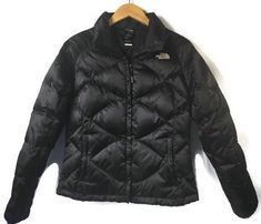 a6e1500d0ebf The North Face Women s Aconcagua Jacket M Medium Black Down Insulated 550  Puffer  TheNorthFace