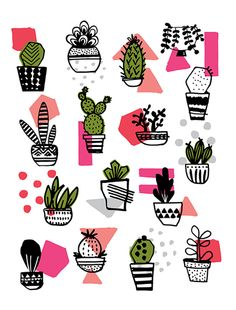 My Planted Pot Party Poster $25, www.babasouk.ca