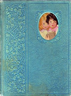Charming vintage book in my favourite colour!