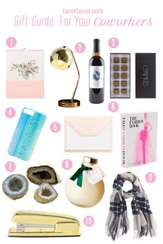 Holiday gifts for your favorite coworkers by LaurenConrad.com