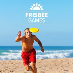 Grab that Frisbee and check out these 4 beach frisbee games you can play with that inexpensive plastic disc.