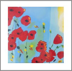 paintings of flowers by dot dixon Color Of Life, Dots, Kids Rugs, Paintings, Colour, Flowers, Home Decor, Stitches, Decoration Home