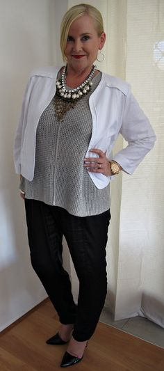 fc7788382de Sussan jacket Sass and Bide top Mela Purdie pants Uberkate earrings Salita  Matthews necklace Michael Kors