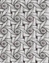 Resultado de imagen de zentangle pattern HI by Hsin-Ya Hsu