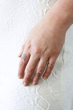 4 small arrow temporary tattoos / small temporary by Tattoorary