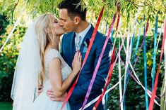 Bright DIY 'At Home' Outdoor Garden Ceremony & Marquee Reception | Bride in Beaded Bodice Wedding Dress | Groom in Reiss & Ted Baker | Bridesmaids in TK Maxx Marianne Chua Photography