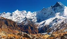 Annapurna Base Camp trek is the short trek where the trekker generally used to go there for the short period of time....................................