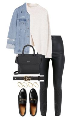 """Untitled #4560"" by theeuropeancloset on Polyvore featuring Gucci, MANGO, Acne Studios, Givenchy and ASOS"
