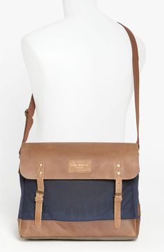 #TedBaker London 'Candes' Messenger Bag | Nordstrom