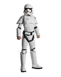 Kids Stormtrooper Deluxe Costume - Star Wars - Spirithalloween.com