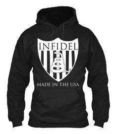 INFIDEL: MADE IN THE USA -Patriotic and military inspired streetwear brand. High quality t shirts and hoodies to celebrate freedom and democracy. Love America, love our stuff