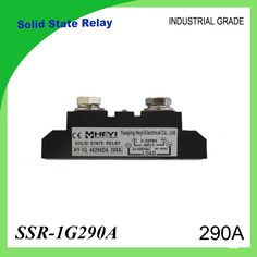 SSR-290A Solid State Relay 290A Industrial 24-480VAC 3-32VDC(D3) 70-280VAC(A2) High Voltage Relay Solid State Relays SSR 290A #Affiliate
