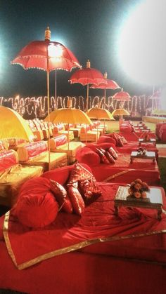 Guest seating #wedding #Rajasthan #Indian #Royal