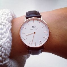 daniel wellington watch|  Recently got my baby. I call it my baby because it is the first nice watch I have bought myself. I use to wear sport watches a lot more because I was a runner and I needed to have a stop watch on board. But after knowing it was time to change it up I got this watch. I love it very much and I can't stand a day without it. Kind of feels weird not wearing it everyday. It's a pricy watch but it was worth the purchase.