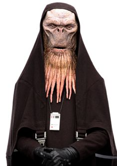 Barbadelans were a sentient species that existed in the galaxy. Dobarn Tren and Karamu were members of this species. The Barbadelan were a species of orange or tan colored skin. Star War 3, S Star, Alien Races, Star Wars Costumes, Star Wars Pictures, Alien Creatures, Chewbacca, Star Wars Characters, Photo Online