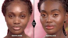 ALL IS FAIR IN M-U & ♥️ 🧐🤔🤨😏.... 🤭🤫☺️😊😚😉 Easy, Fresh, Golden Makeup Look For Summer | Charlotte Tilbury - YouTube #Eyeshadows