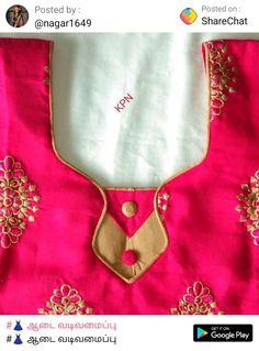 Chudithar Neck Designs, Chudidhar Designs, Salwar Neck Designs, Kurta Neck Design, Neck Designs For Suits, Saree Blouse Neck Designs, Neckline Designs, Fancy Blouse Designs, Dress Neck Designs