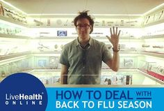 "Back to school season is also ""back to flu"" season. While you and your family are healthy, it's a good idea to prepare for when you're not. ""Be sure to wash your hands, get plenty of sleep and eat fresh fruits and vegetables,"" advises Dr. Mia Finkelston, who treats patients for LiveHealth Online.   ""Germs are inevitable. Don't be afraid of them,"" she adds. ""Stay as healthy as you can and learn what to do when you do get sick, because then you may fight off the germs quicker."""