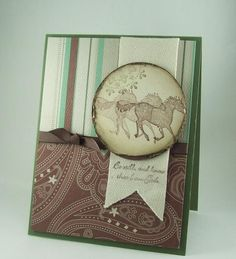 Be Still Horses by mamaxsix - Cards and Paper Crafts at Splitcoaststampers