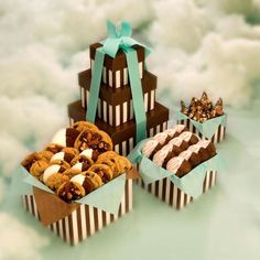 Chocolate Chip, English Toffee Chocolate Chip, Macaroons & English Toffee Candy - www.heidisheavenlycookies.com