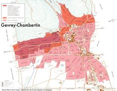 gevrey chambertin wine map - Google Search