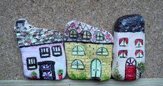 Petites maisons-galet